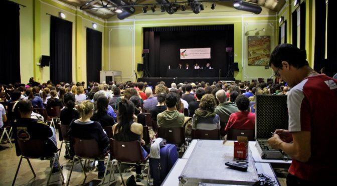 500 persones i 50 col·lectius participen a la I Conferència estatal pel BDS