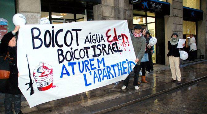 Els estudiants engeguen campanya contra l'aigua Eden