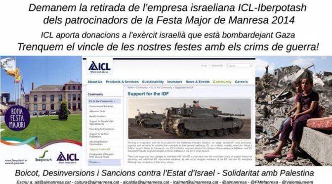 BDS Bages demana a l'Ajuntament de Manresa que renuncii al patrocini de ICL-Iberpotash a la Festa Major