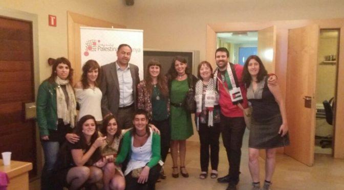 Discurs del BDS Catalunya en motiu del Premi Esperança 2015 de la Comunitat Palestina