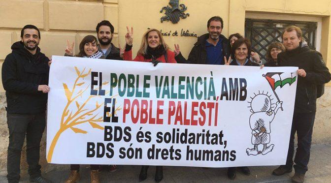 """La Diputació de València es posiciona contra """"l'Apartheid israelià"""""""