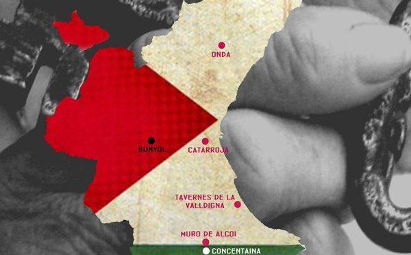 Municipis del País Vlencià adherits al BDS