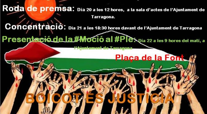 CONCENTRACIÓ: Boicot es Justicia!